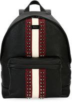 Bally Hingis Studded Leather Backpack, Black
