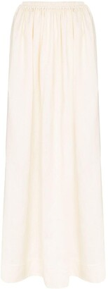Matteau high-waisted maxi skirt