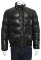 Givenchy Leather Puffer Jacket