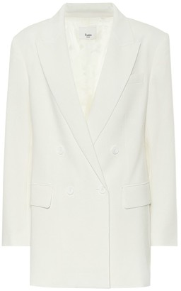 Frankie Shop Elvira stretch-crepe blazer