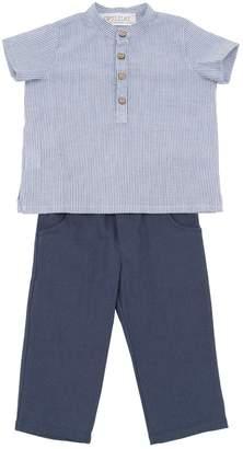 Opililai COTTON MUSLIN SHIRT & LINEN BLEND PANTS