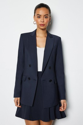 Luxe Wool Blend Suit Jacket