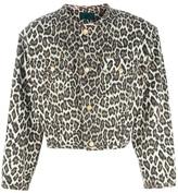 Jean Paul Gaultier Vintage cropped leopard print jacket