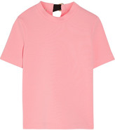 Marni Open-back Crepe Top - Pink