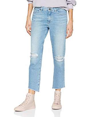 BOSS Women's J30 Corona Regular Fit Jeans, (Turquoise/Aqua 442), (Size: 31)