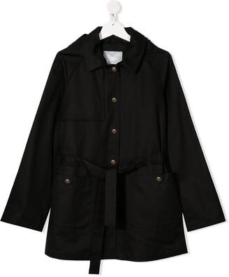 Herno Tie Waist Trench Coat