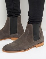 Selected Dexter Suede Chelsea Boots