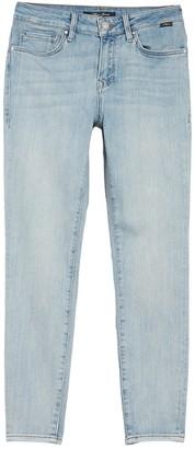 "Mavi Jeans Tess Bleached Vintage Skinny Jeans - 27"" Inseam"