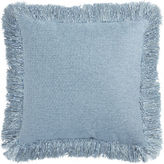 Pier 1 Imports Confetti Fringe Blue Pillow