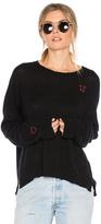 Sundry XOXO Cashmere Pullover