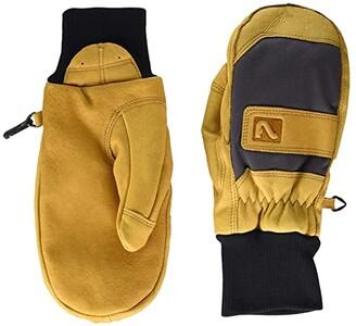 Flylow Unicorn Mitten (Natural/Aqua) Over-Mits Gloves