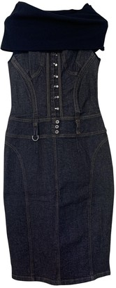 Dolce & Gabbana Black Denim - Jeans Dress for Women