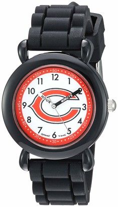 Game Time Gametime Men's Stainless Steel Analog-Quartz Watch with Silicone Strap