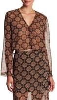 The Fifth Label The Collectable Printed Long Sleeve Blouse