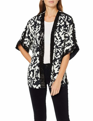 Dorothy Perkins Women's Mono Sequin Cover Up T-Shirt