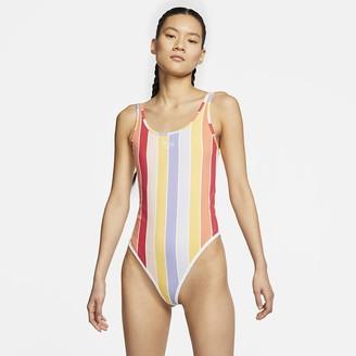 Nike Women's Printed Bodysuit Sportswear