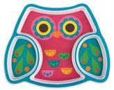 Stephen Joseph Melamine Owl Tray in Pink