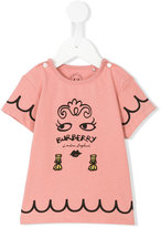 Burberry printed and embroidered T-shirt