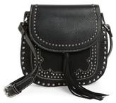 Shiraleah Skylar Faux Leather Saddle Bag - Black