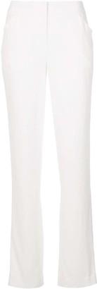 Kiki de Montparnasse Mid-Rise Straight-Leg Trousers