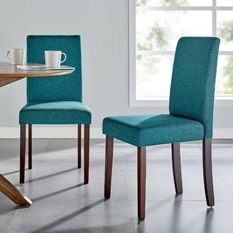 Upholstered Parsons Dining Chairs Shop The World S Largest Collection Of Fashion Shopstyle