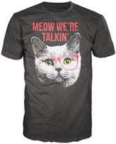 Bioworld Meow We're Talkin' Cat Men's T-Shirt