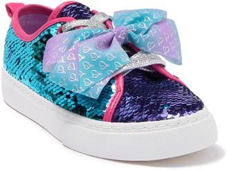 Jojo Siwa Ombre Sequin Bow Sneaker (Toddler, Little Kid, & Big Kid)