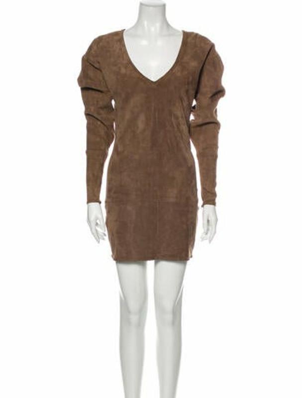 Thumbnail for your product : Jitrois Leather Mini Dress