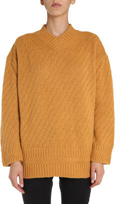Stella McCartney Oversized V-Neck Sweater