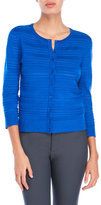 Cable & Gauge Pointelle Knit Cardigan