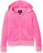 Juicy Couture Girl's Logo Vlr Glam Laurels RB Jckt Track Jacket