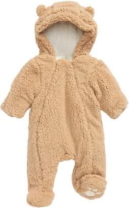 Little Me Sesame Fleece Hooded Bunting