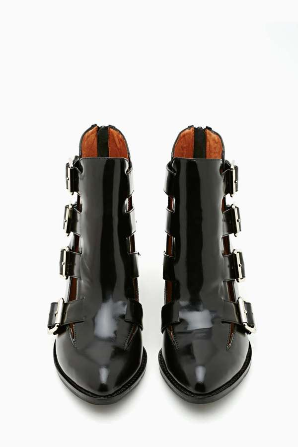 Nasty Gal Jeffrey Campbell Evermore Buckled Boot
