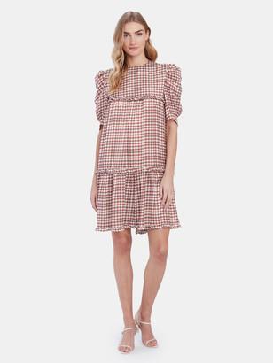 Birgitte Herskind Sus Ruffled Mini Dress
