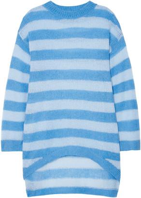Georgia Alice Delphine Striped Open-knit Sweater