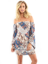 West Coast Wardrobe Boho Bella Mini Dress in Multi