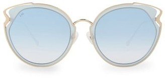 For Art's Sake Artist 57MM Cat Eye Sunglasses