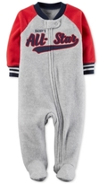 Carter's Daddy's All-Star Fleece Footed Coverall, Baby Boys (0-24 months)