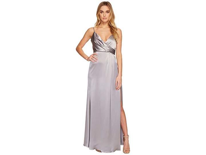 Jill Stuart Satin Back Crepe Slip Dress Women's Dress