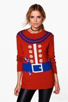 Boohoo Gabriella Elf Suit Christmas Jumper