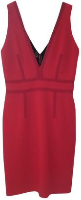 Christian Lacroix Red Wool Dress for Women