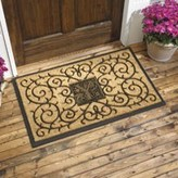 The Well Appointed House Personalized Coir Door Mat