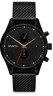 MVMT Caviar Mesh Strap Chronograph, 42mm