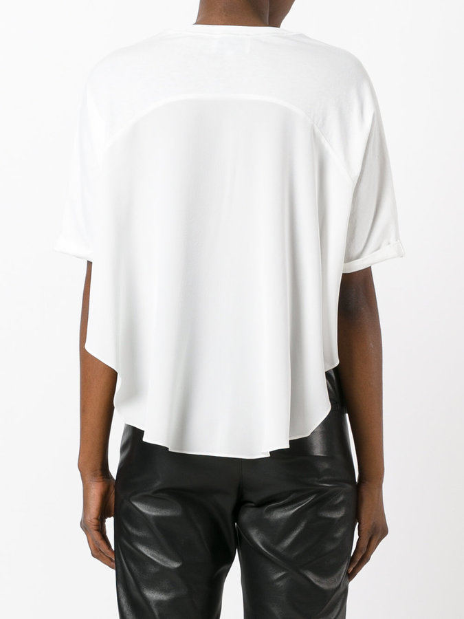 3.1 Phillip Lim high-low T-shirt