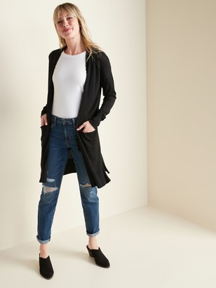 Old Navy Super-Long Open-Front Sweater for Women