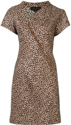Karen Walker Furnace bias dress