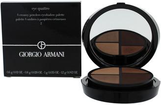 Giorgio Armani 0.125Oz #02 Avant-Premiere Eye Quatro Eyeshadow Palette