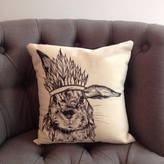 Ink Inc. Chief Bunny Cushion