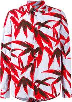 Marni swash print shirt - men - Cotton - 46