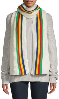 HBC Stripes x Color Me Courtney Retro Stripe Knit Scarf